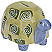 Ganz Ceramic Turtle Bank