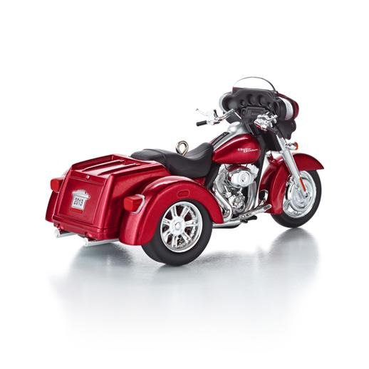 Hallmark 2013 Street Glide 2011 Trike ornat 15th in the Harley ...
