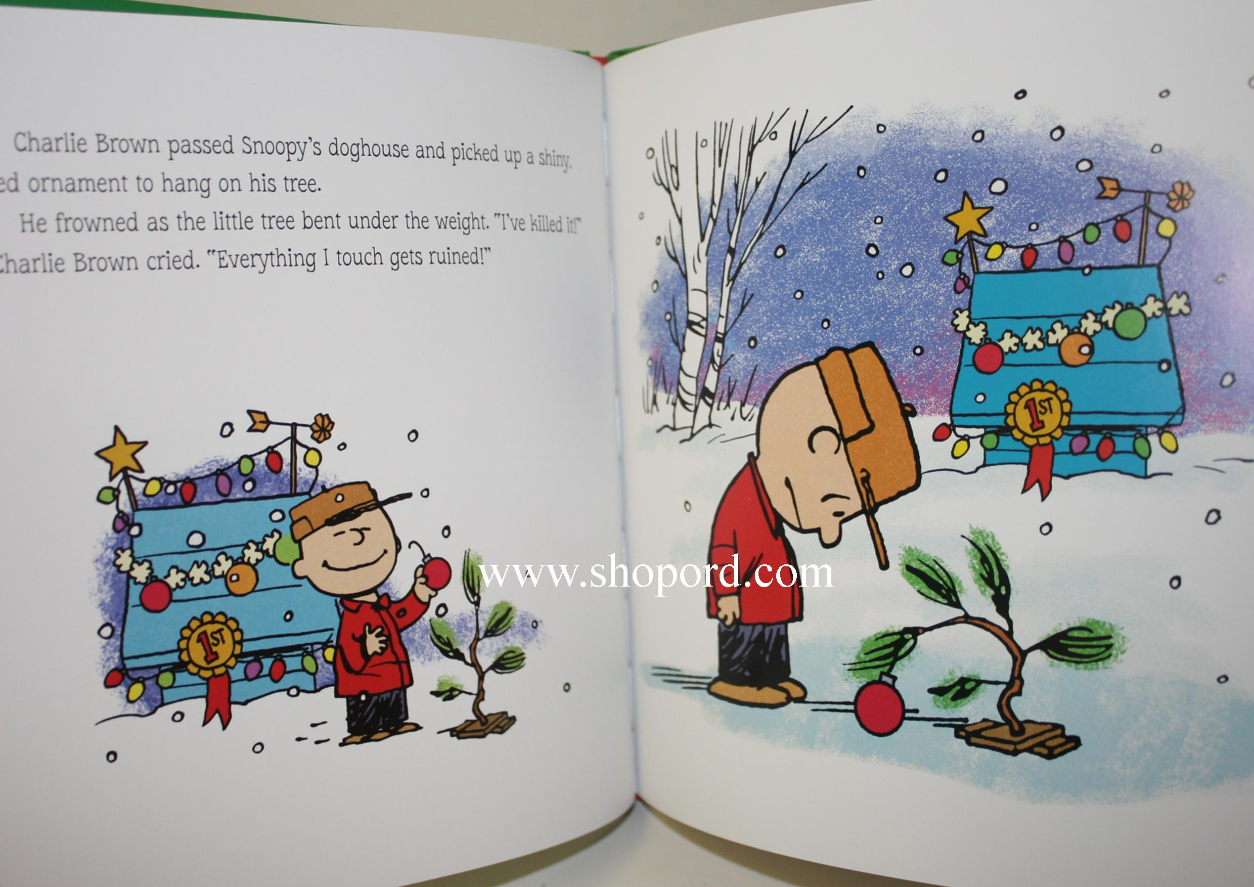 Hallmark Peanuts A Charlie Brown Christmas Hardcover Book 50 Years ...