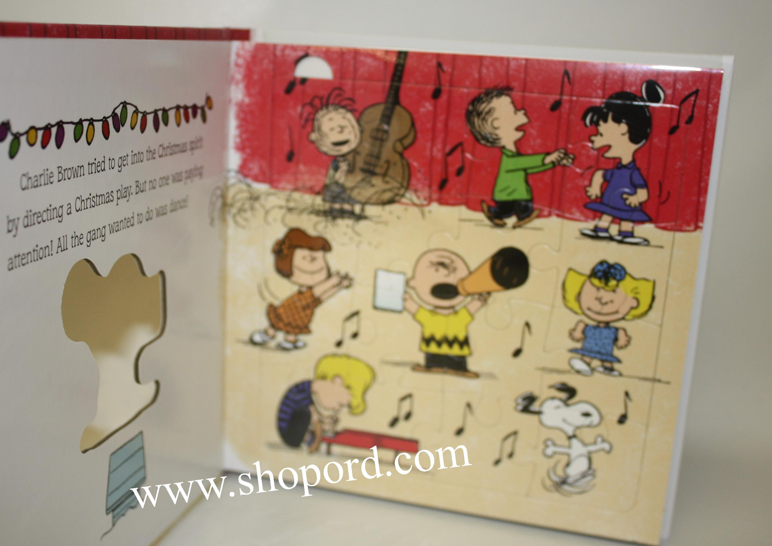 Hallmark Peanuts A Charlie Brown Christmas six Puzzles For Wintry ...