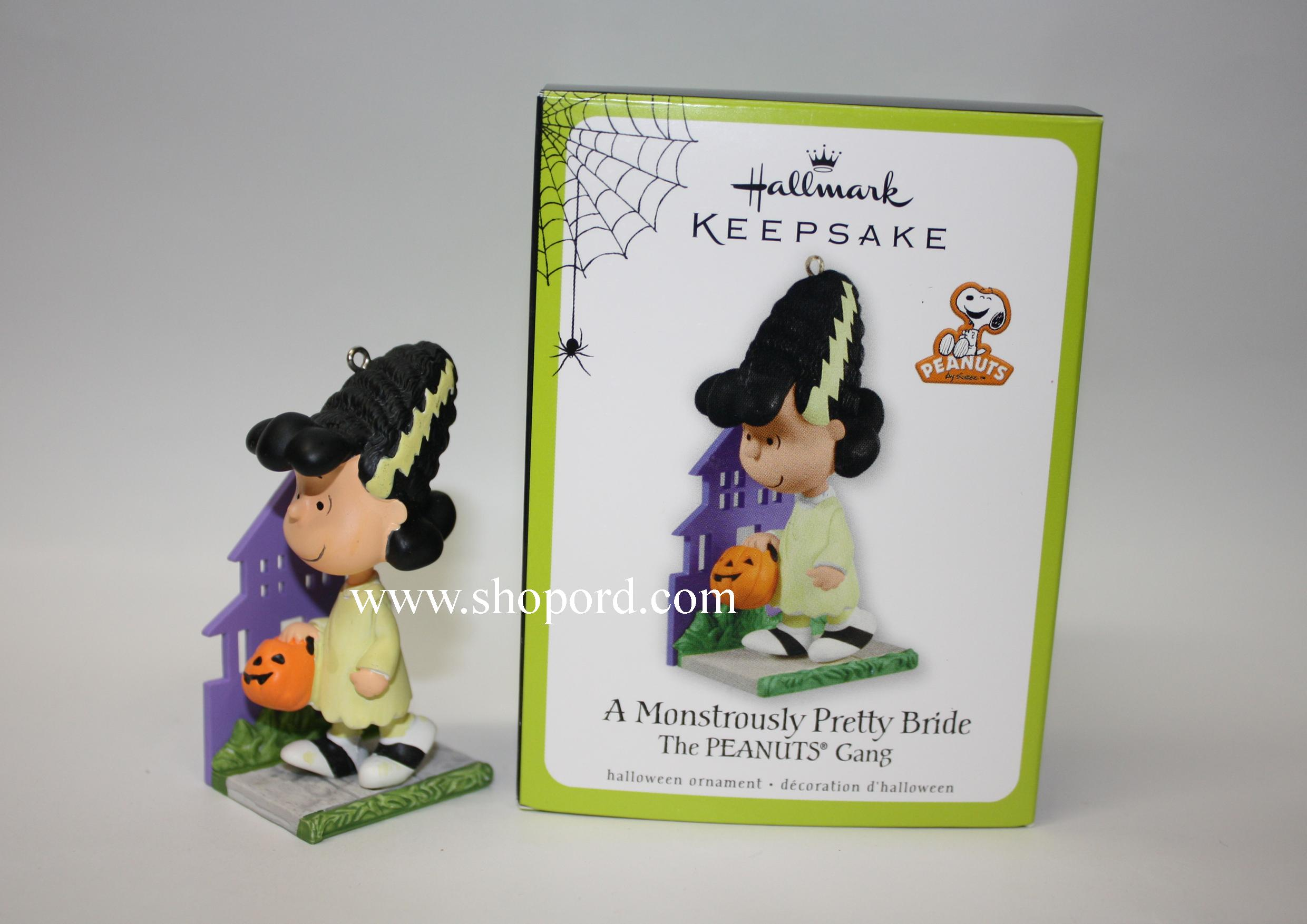 Hallmark 2011 A Monstrously Pretty Bride halloween ornament Lucy ...