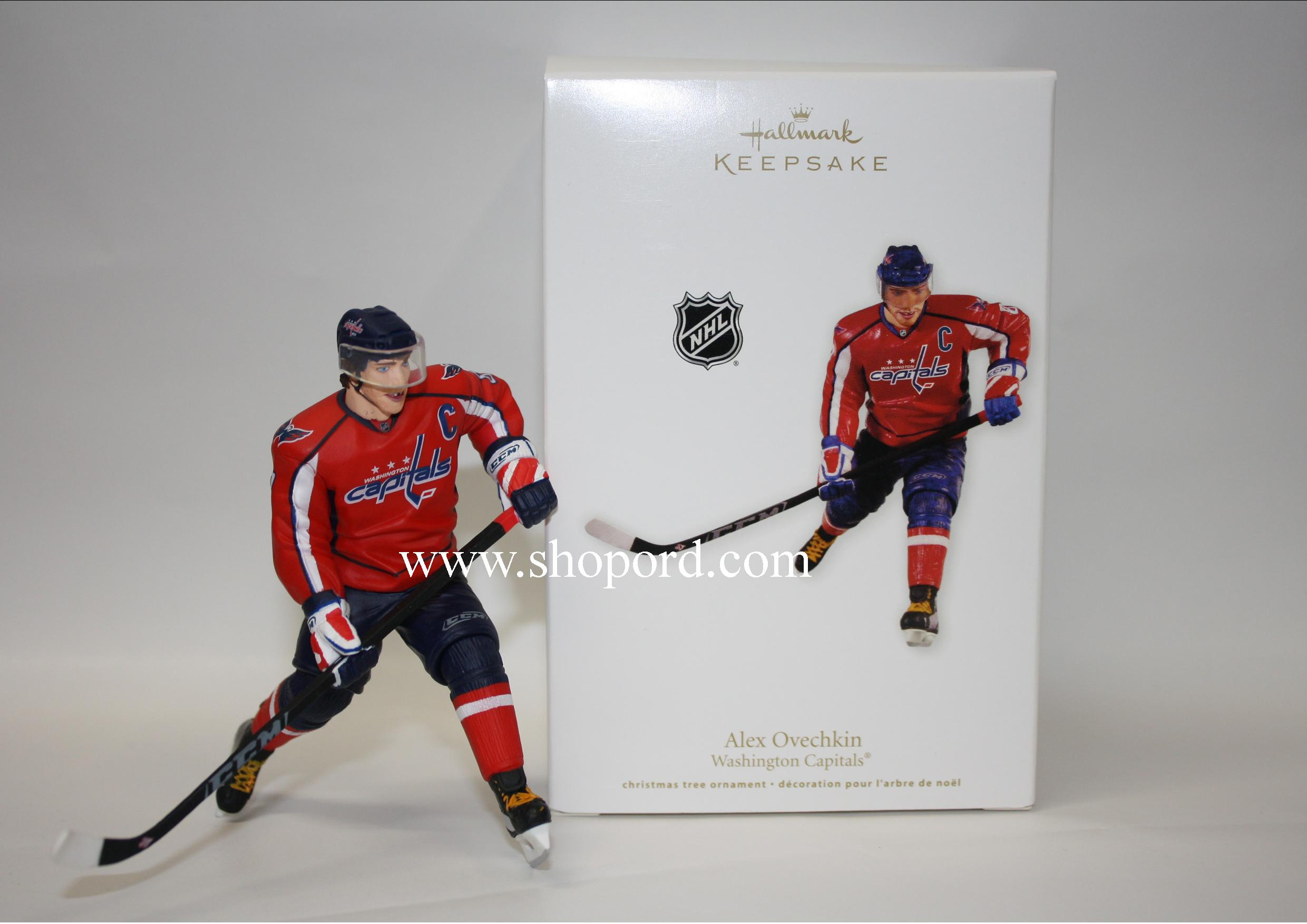 hallmark 2011 alex ovechkin hockey ornament player for
