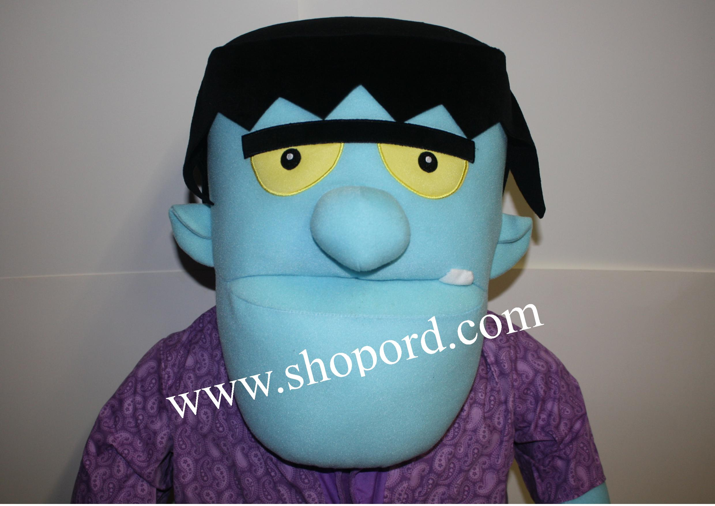 Hallmark Halloween Large Frankenstein Plush Dh6348