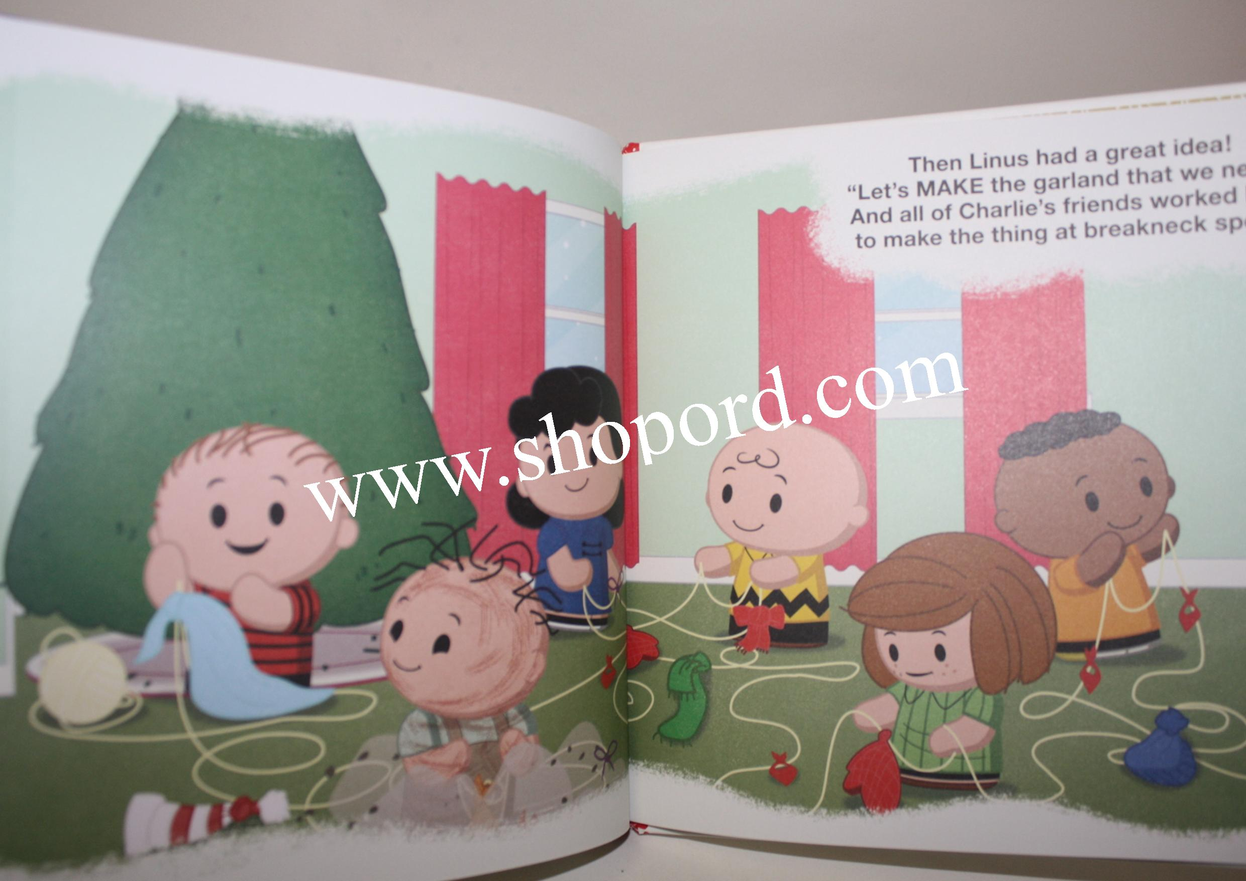 4870d2e965fa3 Hallmark itty bittys Peanuts Its A Tree Tumbling Christmas Charlie Brown  Plush   Hardcover Book Bundle. View detailed images (4). Click to zoom
