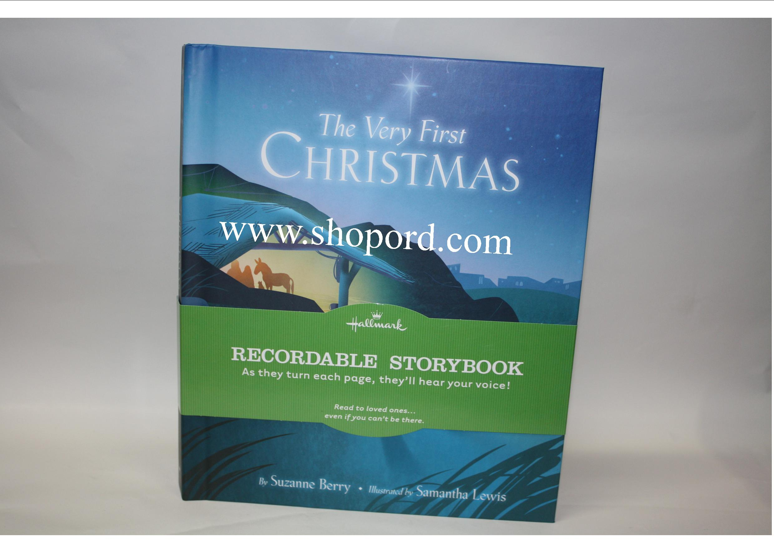 Recordable Christmas Books.Hallmark 2010 The Very First Christmas Recordable Storybook