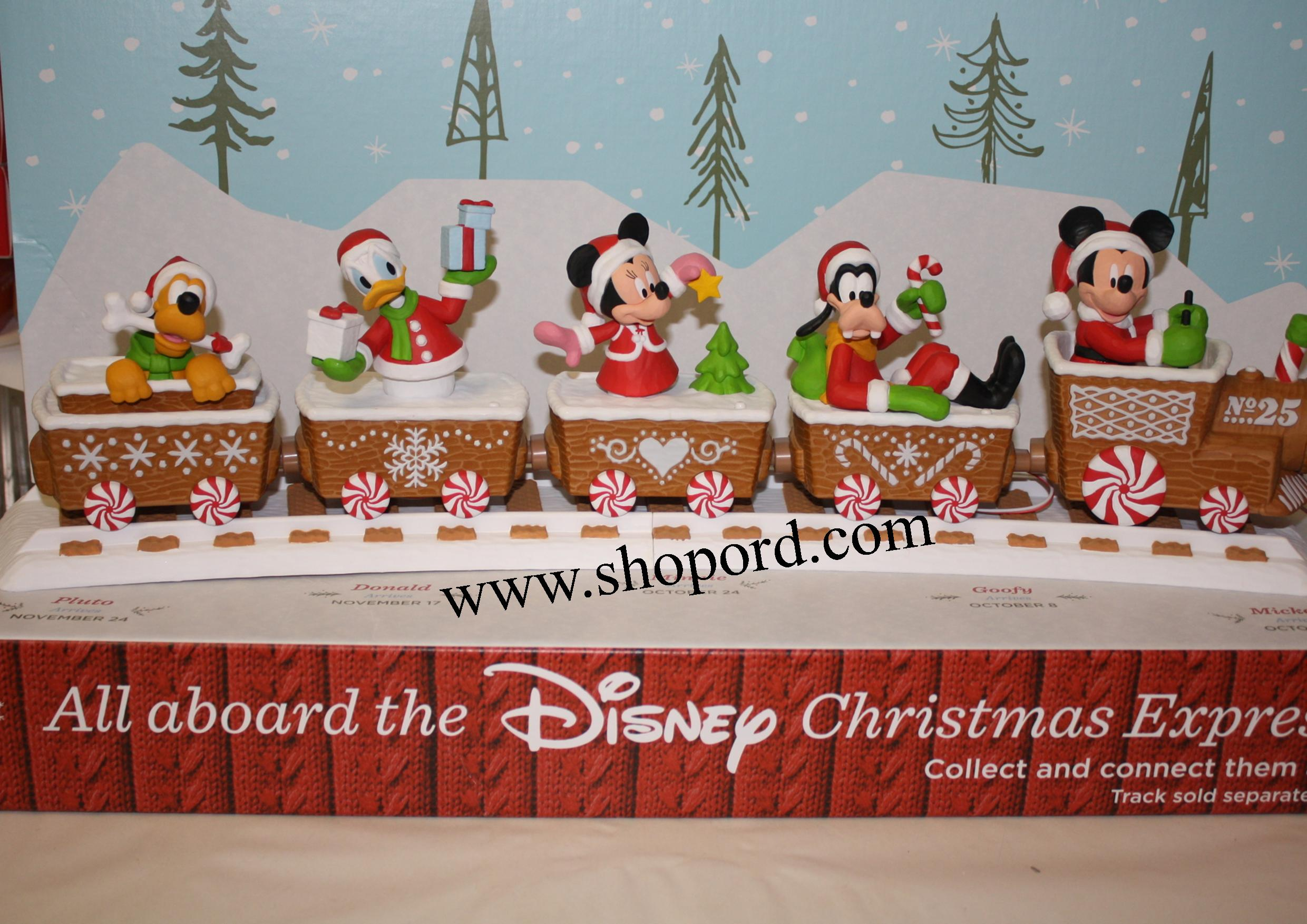 hallmark disney christmas express mickey mouse xkt2131 - Disney Christmas Train