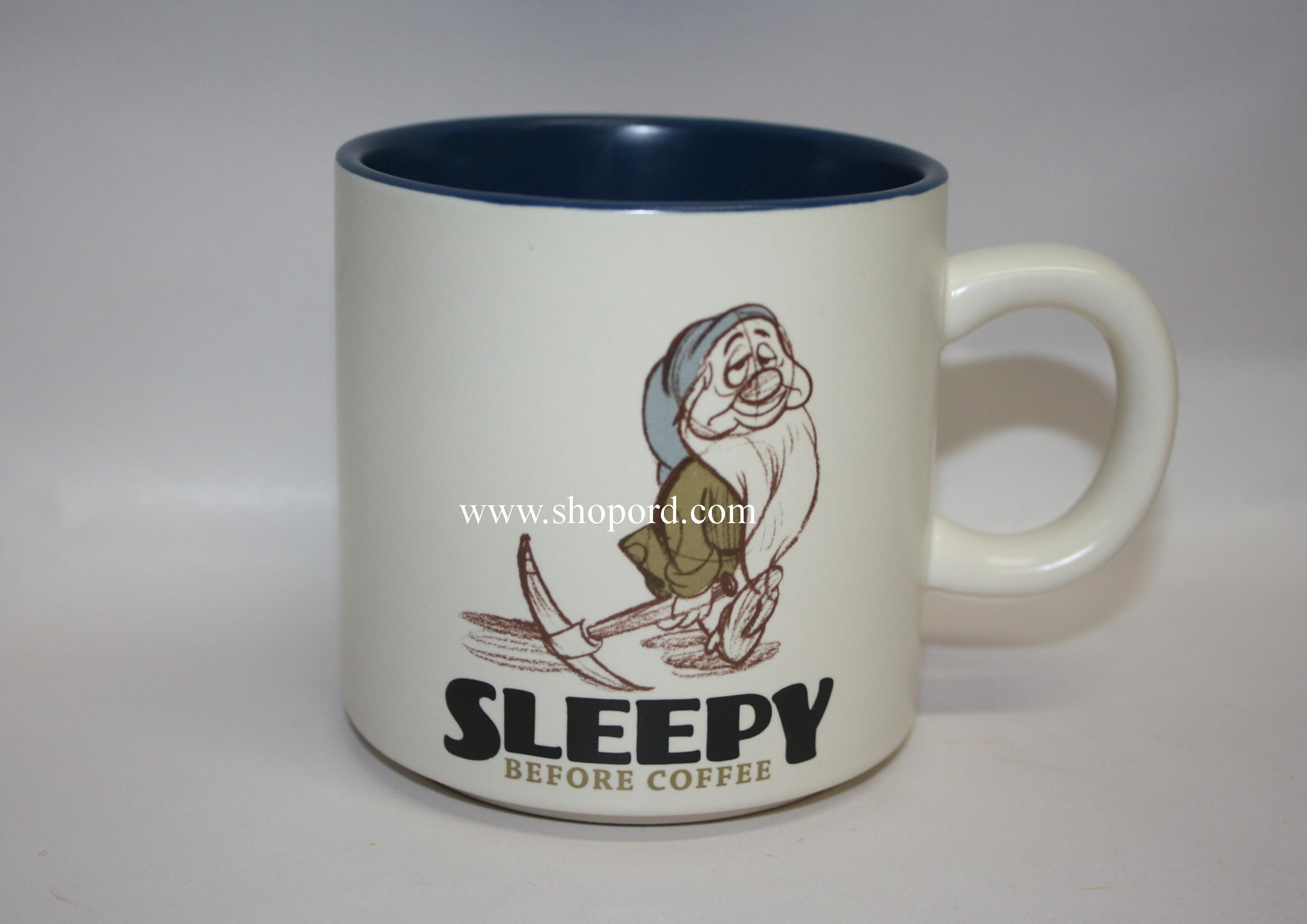 hallmark disney sleepy  oz mug snow white and the seven dwarfs  - hallmark disney sleepy  oz mug snow white and the seven dwarfs dyg