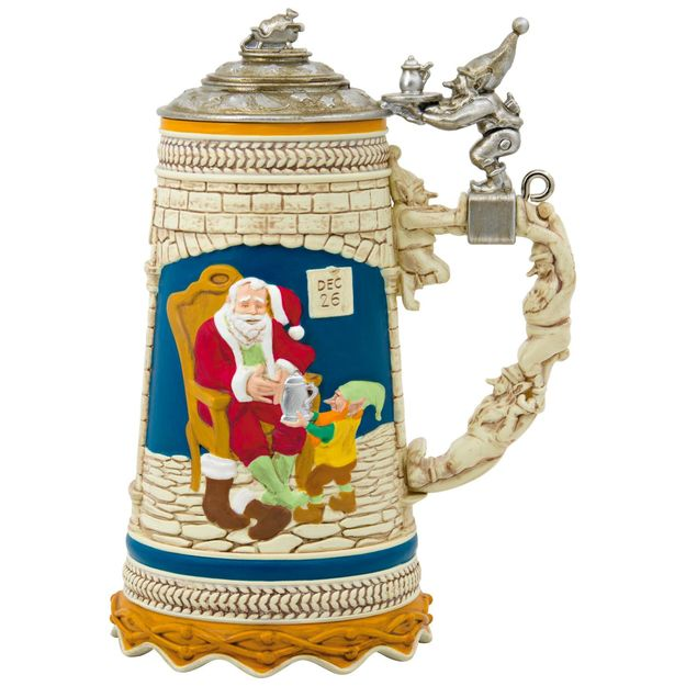 Hallmark 2017 Keepsake Beer Stein Ornament QGO1372