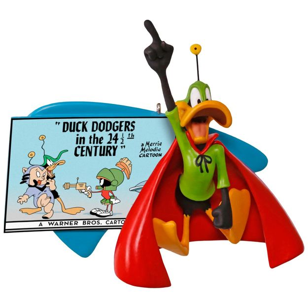 Hallmark 2017 Keepsake Duck Dodgers in the 24 1/2th Century Ornament QXI3012