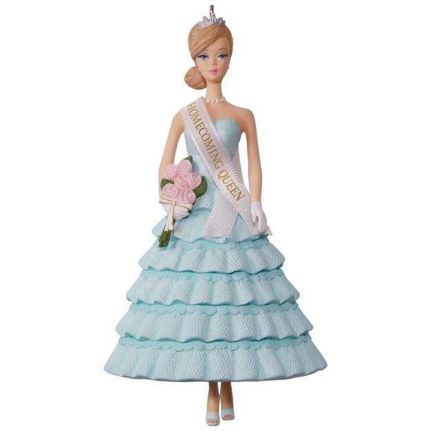 Hallmark 2017 Keepsake Homecoming Queen Barbie Ornament QXI3532