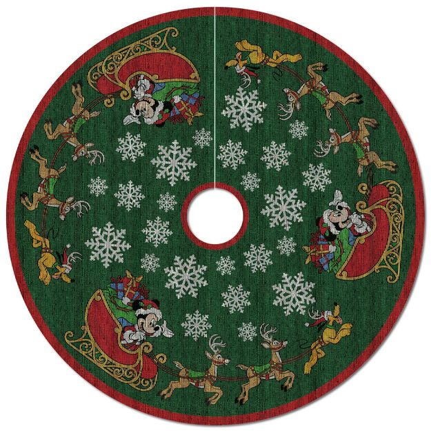 Hallmark 2017 Keepsake Oh What Fun! Tree Skirt QFM6285