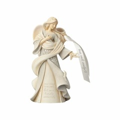 Foundations by Enesco Loss and Comfort Angel Figurine 4058704