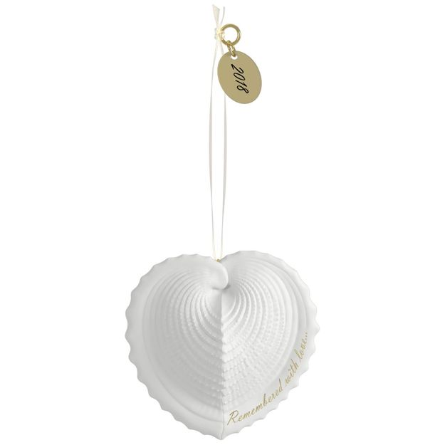 Hallmark 2018 Keepsake Remembered with Love Ornament QHX4006