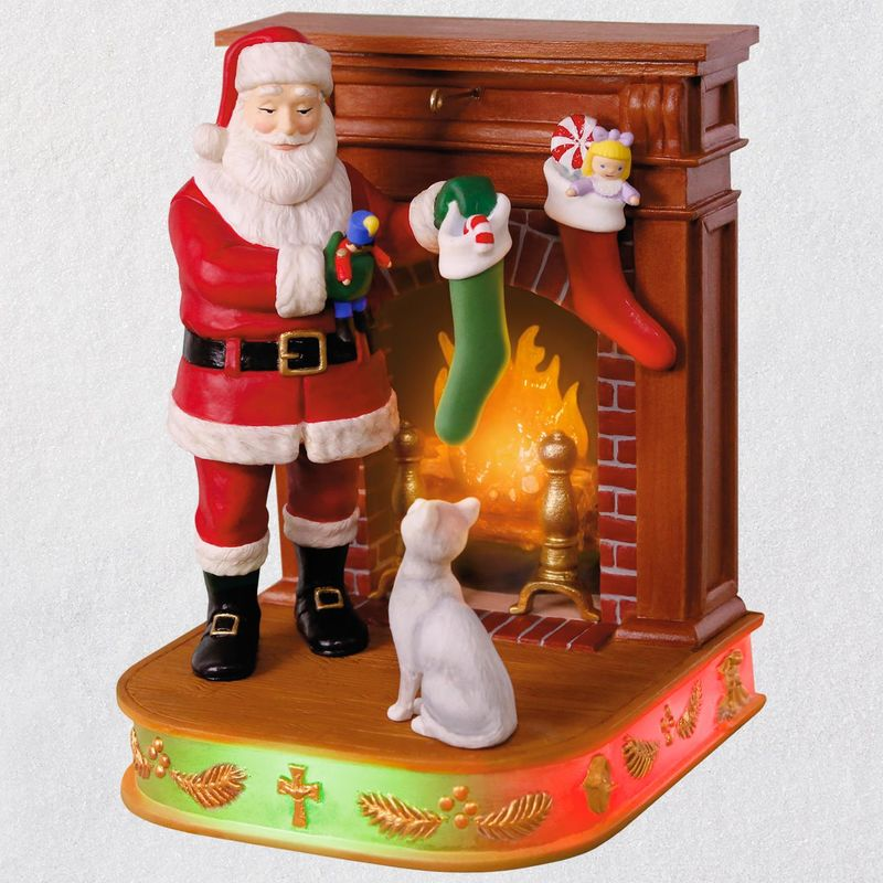 Hallmark 2018 Keepsake Stockings Hung with Care Ornament QX9466