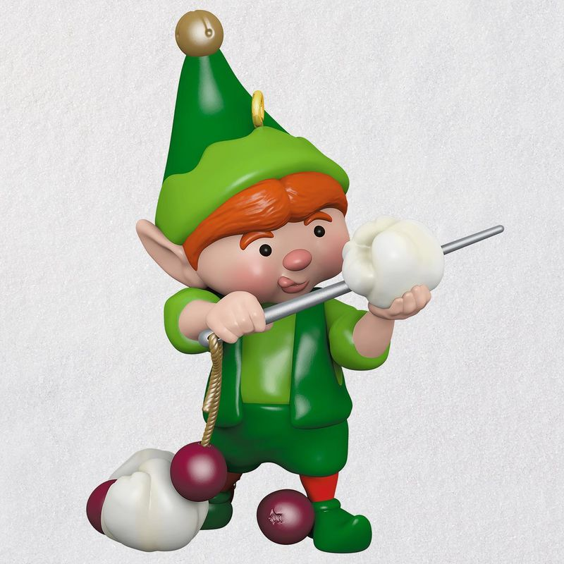 Hallmark 2018 Keepsake North Pole Tree Trimmers Ornament QX9416