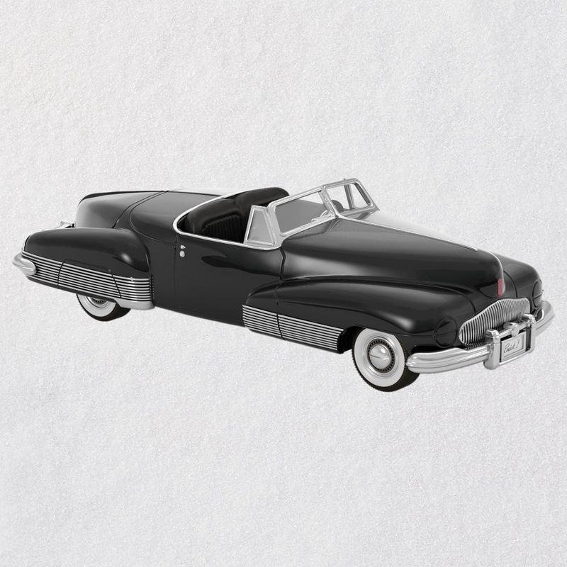Hallmark 2018 Keepsake 1938 Buick Y-Job Ornament QX9336