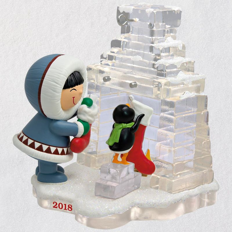 Hallmark 2018 Keepsake Frosty Friends Ornament QX9456