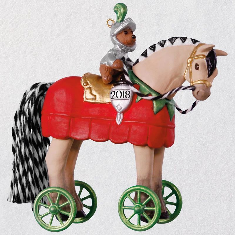 Hallmark 2018 Keepsake A Pony for Christmas Ornament QX9503