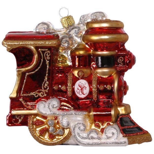 Hallmark 2017 Keepsake Elegant Engine Ornament QK1515