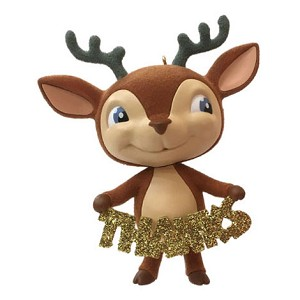 Hallmark 2018 Keepsake Thank-You Deer Employee Gift Ornament LPR3315