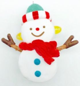 Hallmark 2017 Keepsake Sweet Snowman Ornament VIP1710
