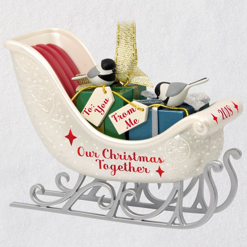 Hallmark 2018 Keepsake Our Christmas Together Ornament QGO1736