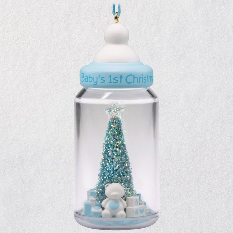 Hallmark 2018 Keepsake Baby Boy's First Christmas Ornament QGO1706