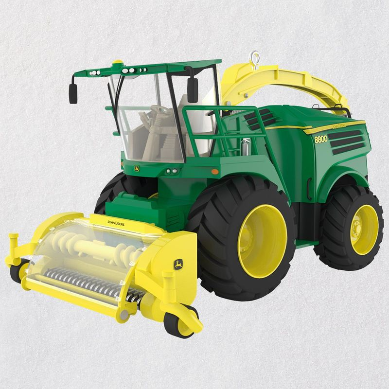 Hallmark 2018 Keepsake John Deere 8800 Self-Propelled Forage Harvester Ornament QXI3176