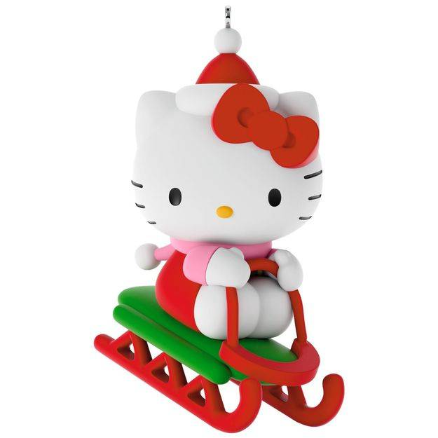 Hallmark 2017 Keepsake Hello Kitty Ornament QXI3615