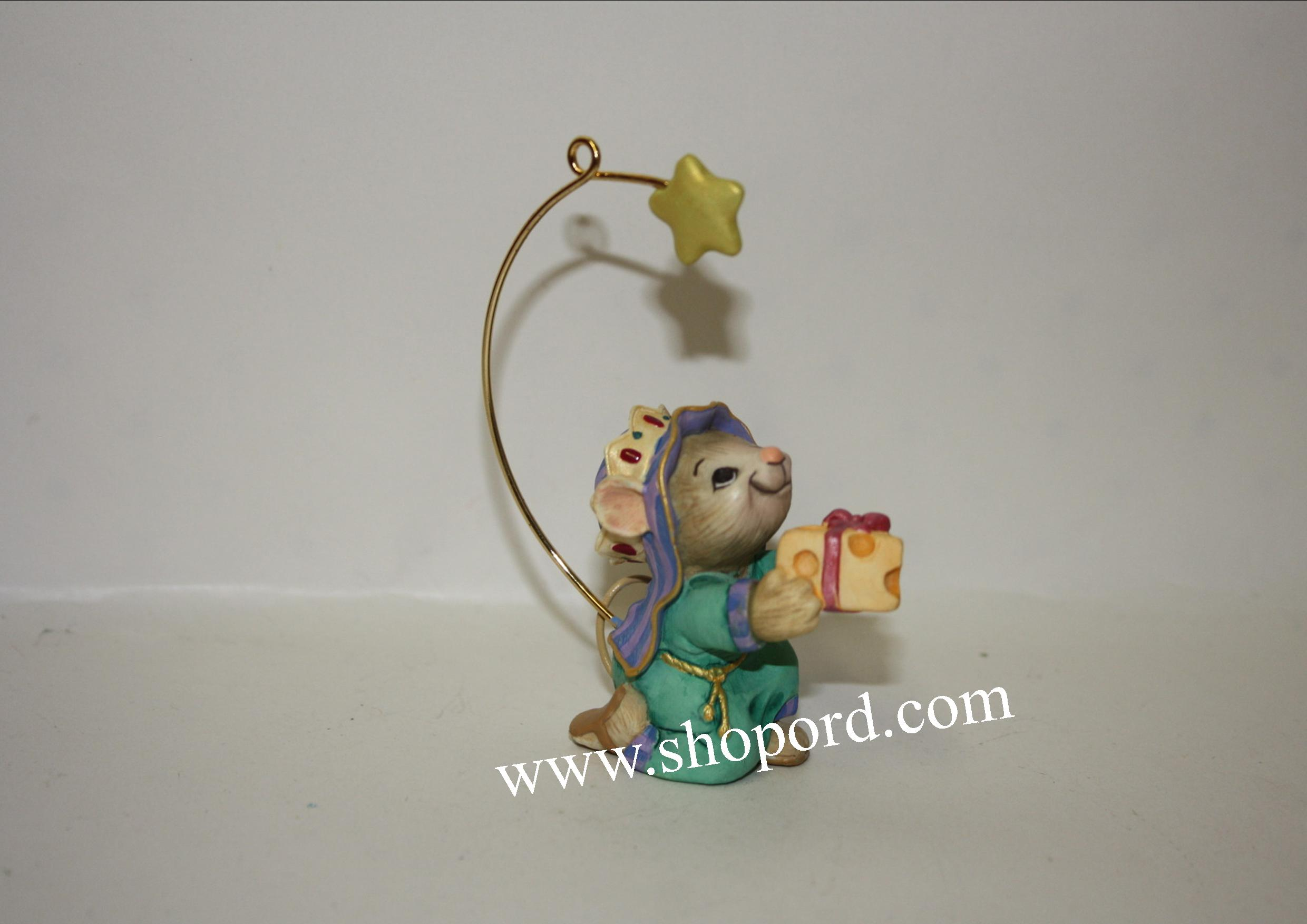 Hallmark 2001 A Wise Follower Ornament QX8202