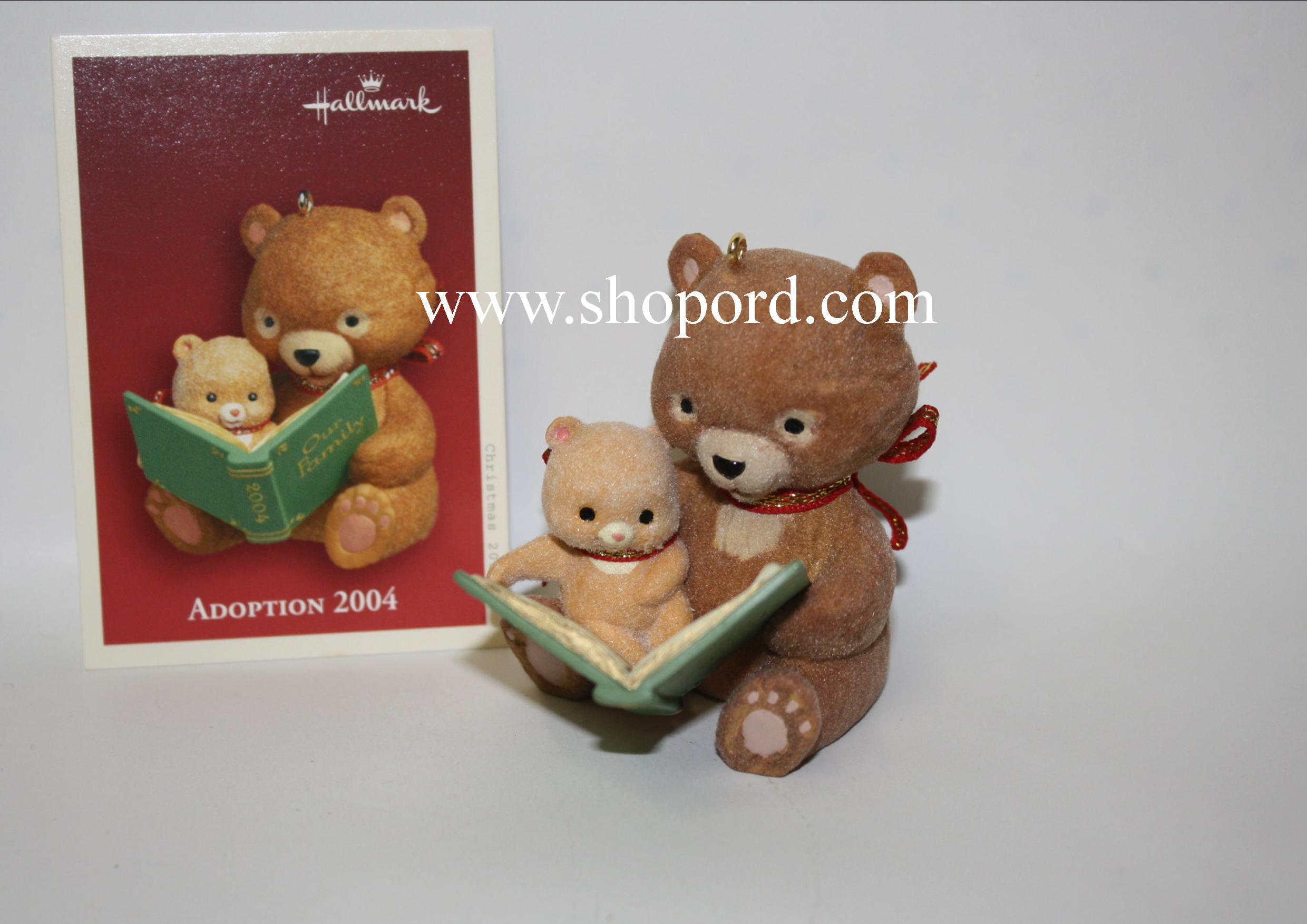 Hallmark 2004 Adoption 2004 Ornament QXG5641