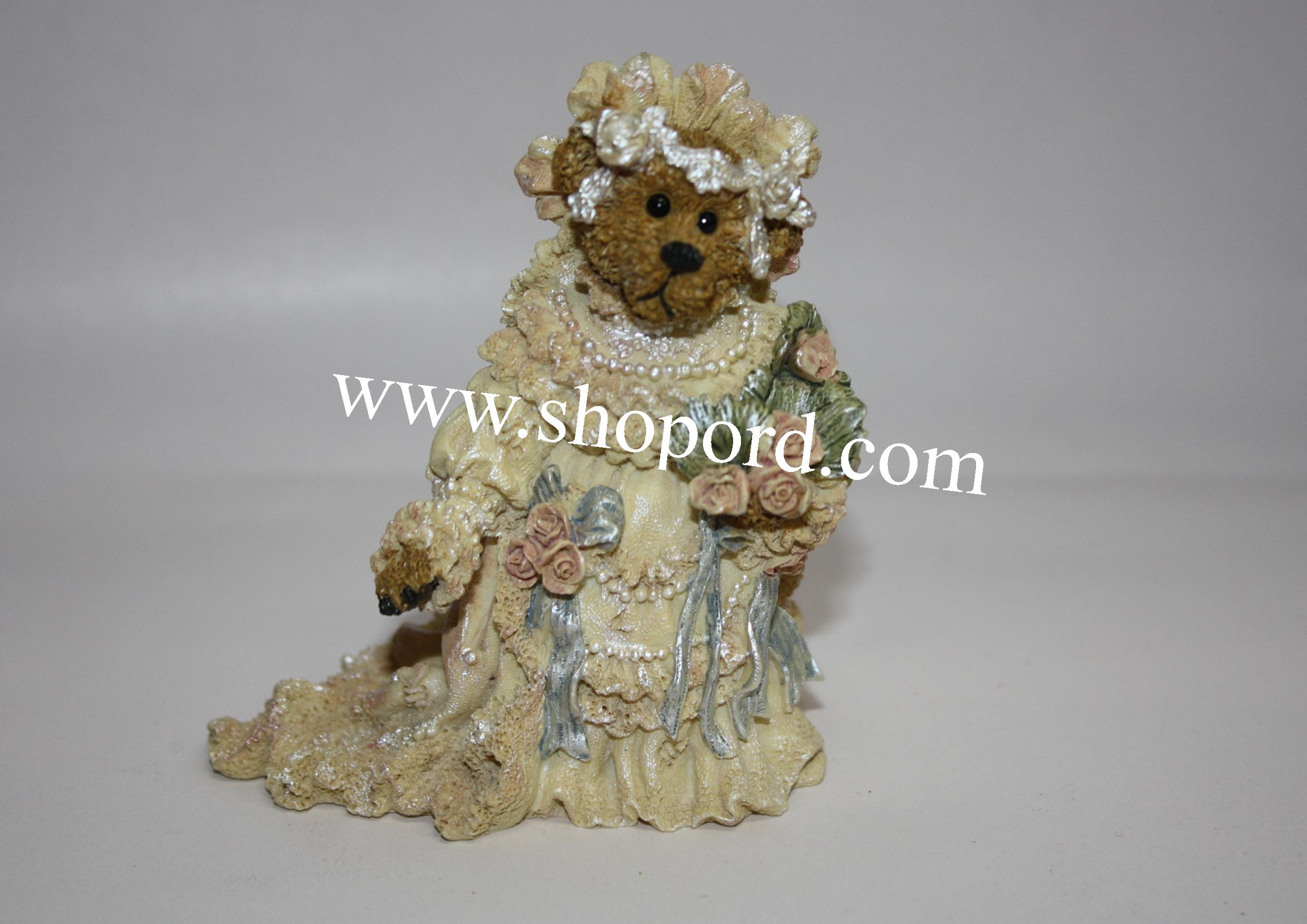Boyds The Bearstone Collection - Bailey (The Bride) #227712