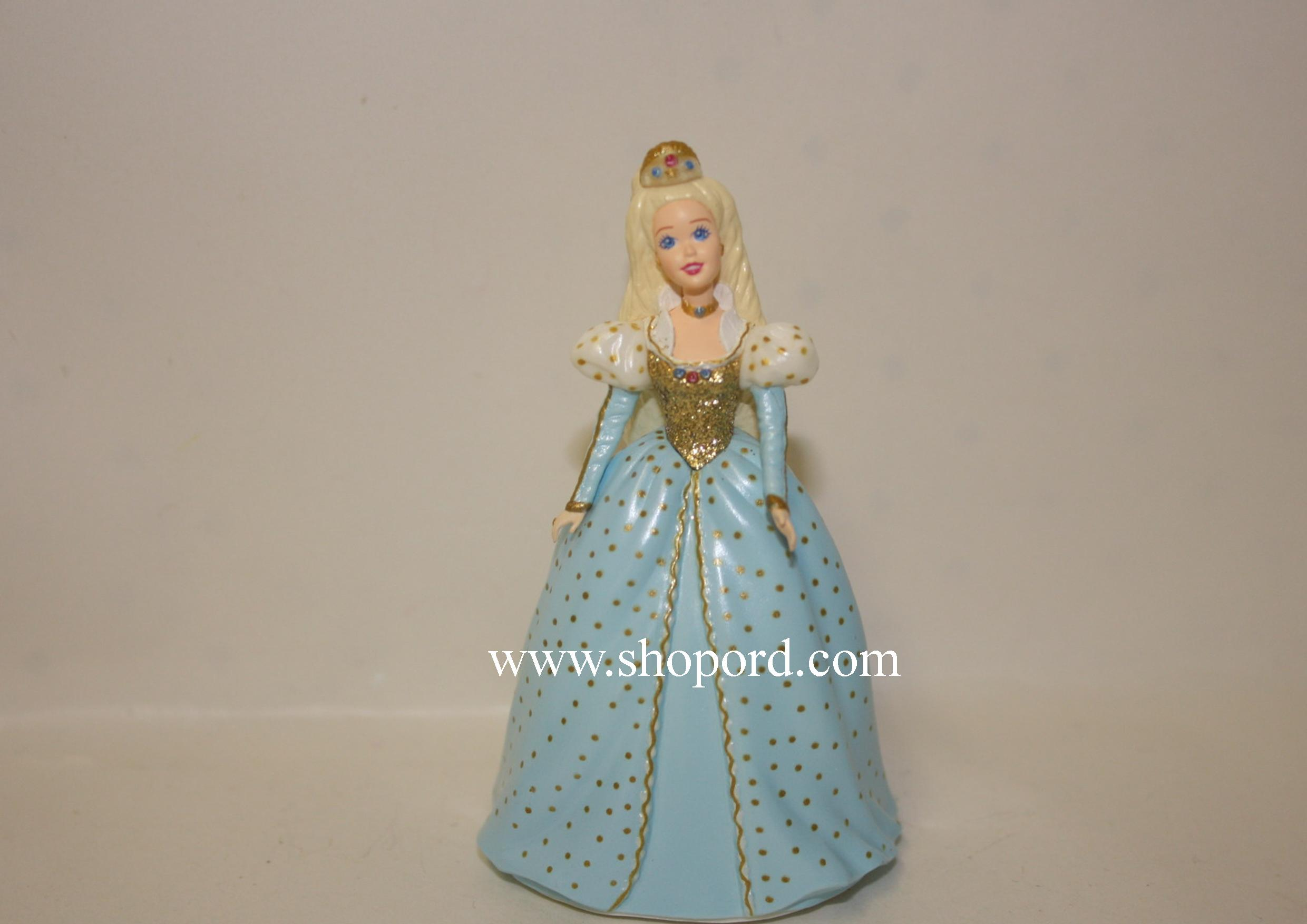 Hallmark 1999 Based On The Barbie As Cinderella Doll Spring Ornament 3rd and Final In The Childrens Collector Series QEO8327 Damaged Box