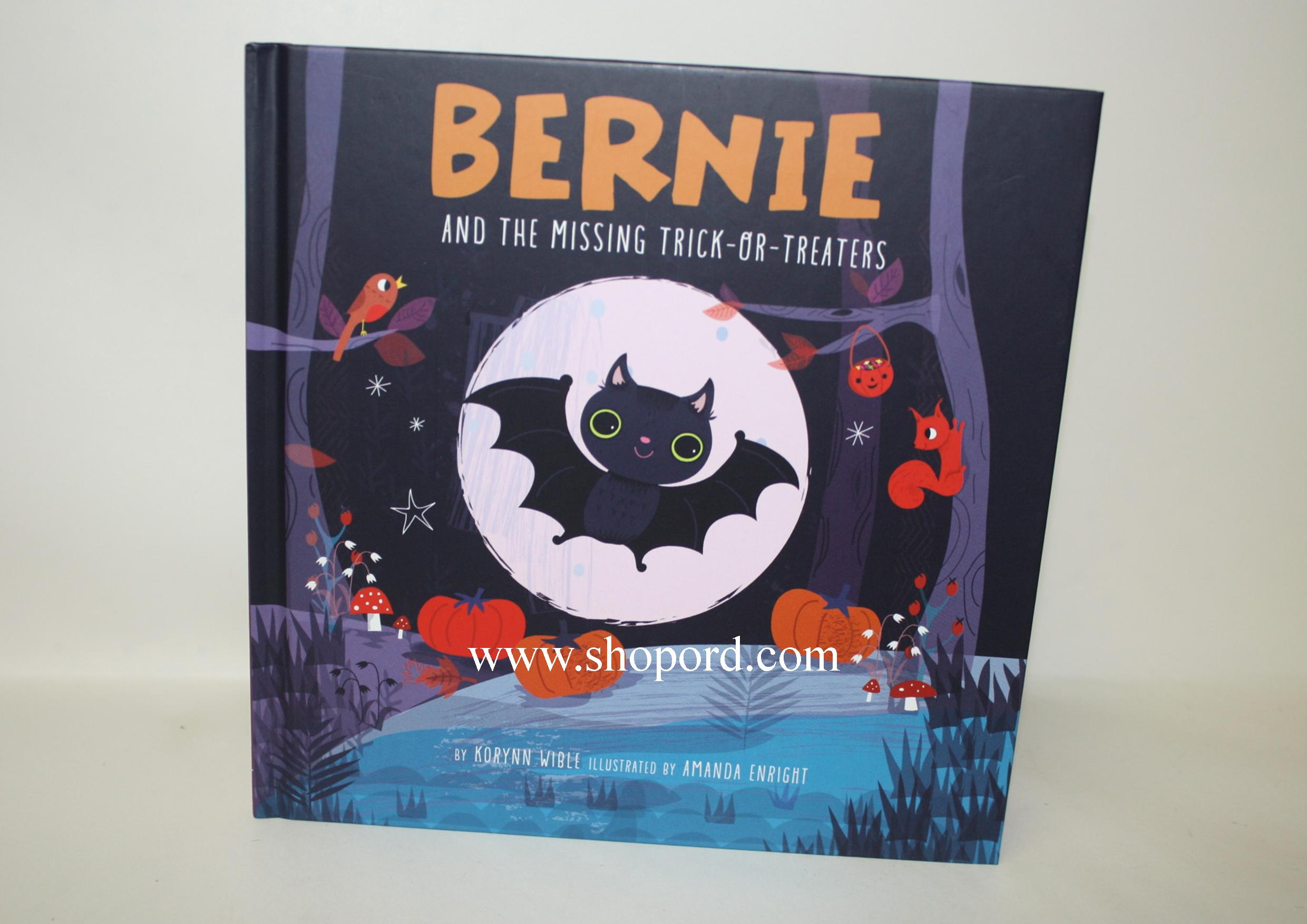 Hallmark Halloween Hardcover Book Bernie And The Missing Trick Or Treaters HGN1160