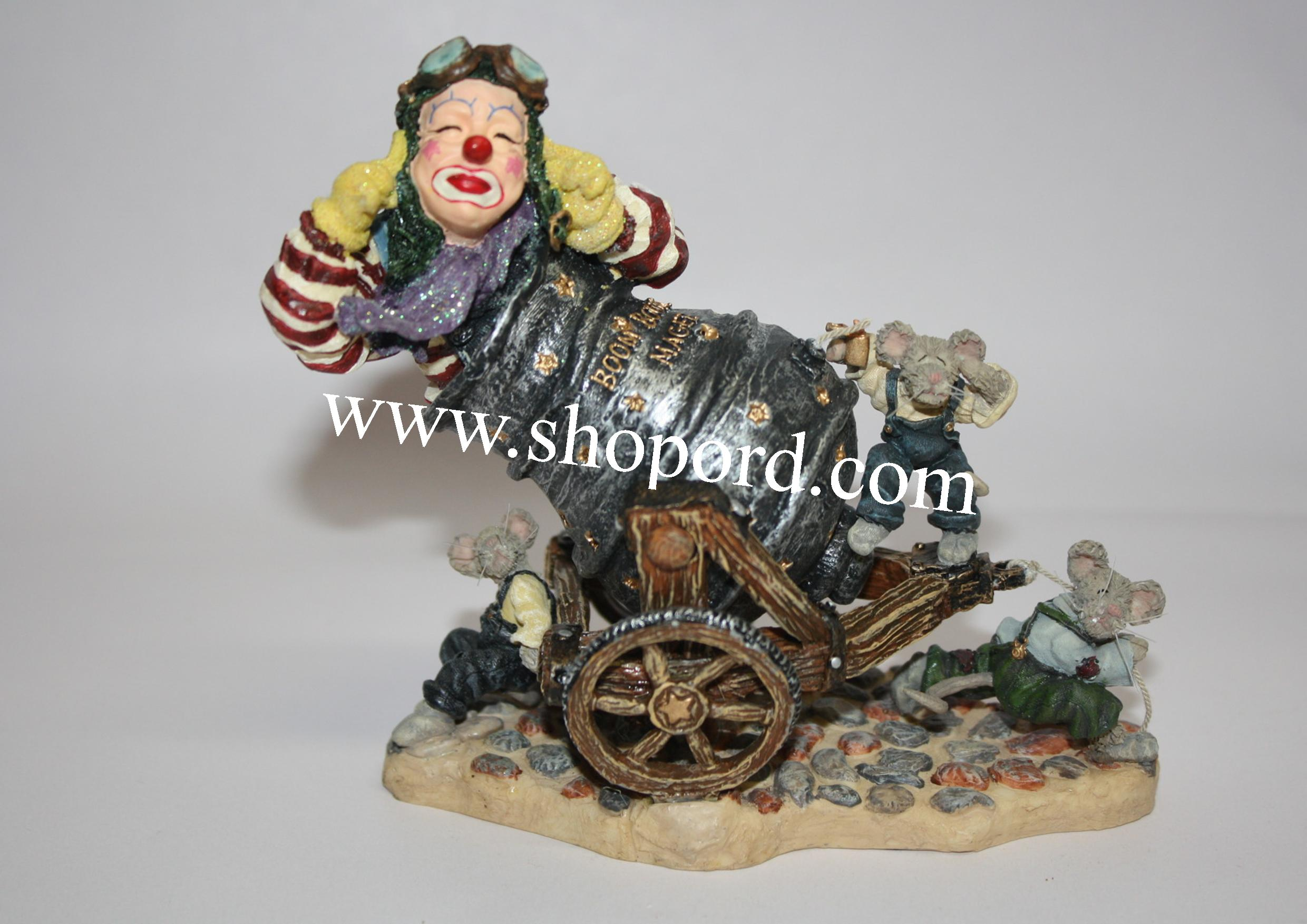Boyds The Wee Folkstone - Boom Boom Magee with Match & Fuse (Thar She Blows!) #36403