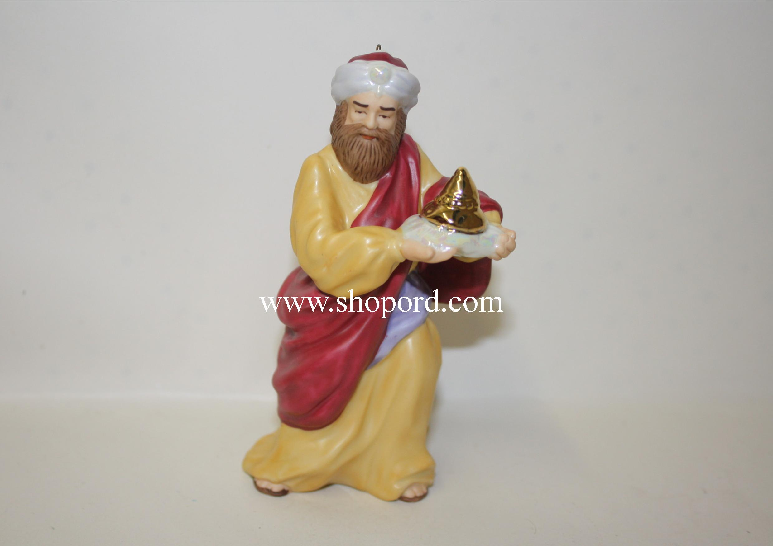 Hallmark 1999 Caspar The Magi Bless Nativity Collection Ornament QX8039