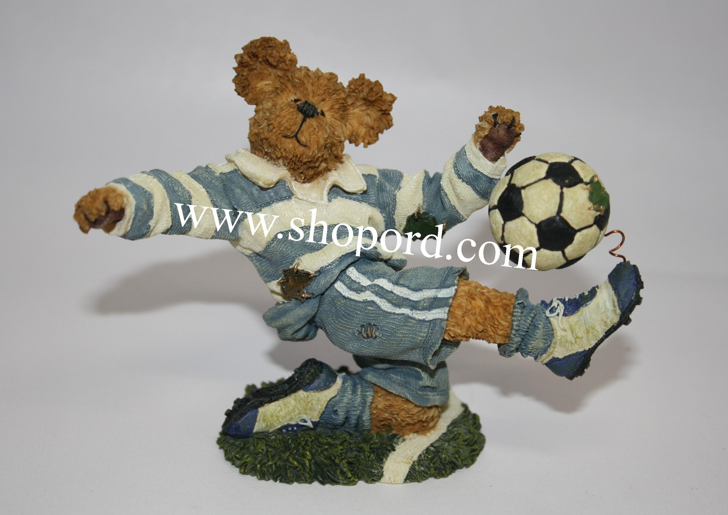 Boyds The Bearstone Collection - Chris Striker (Score - Soccer) #228397