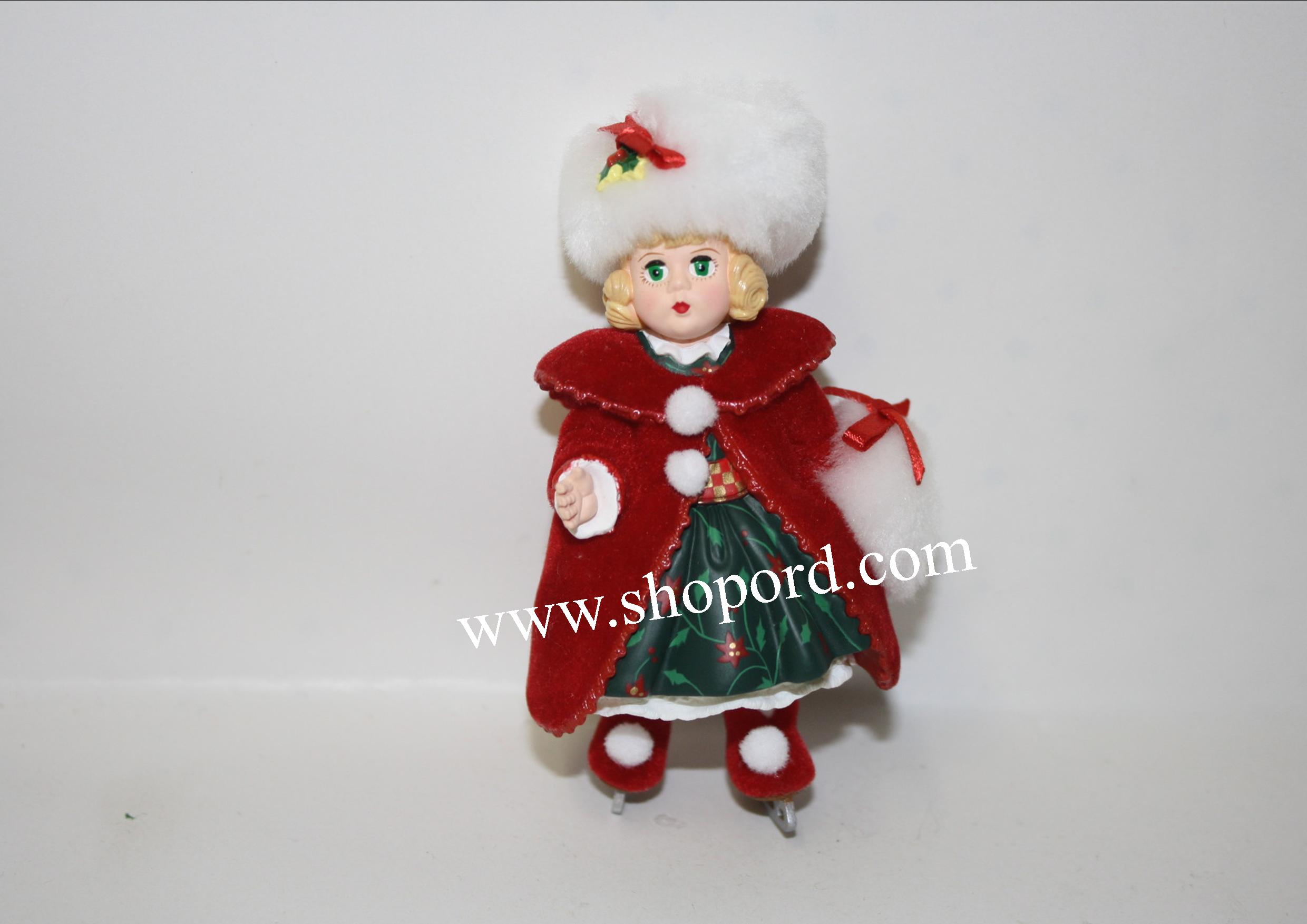 Hallmark 2000 Christmas Holly Ornament 5th In The Madame Alexander Series QX6611