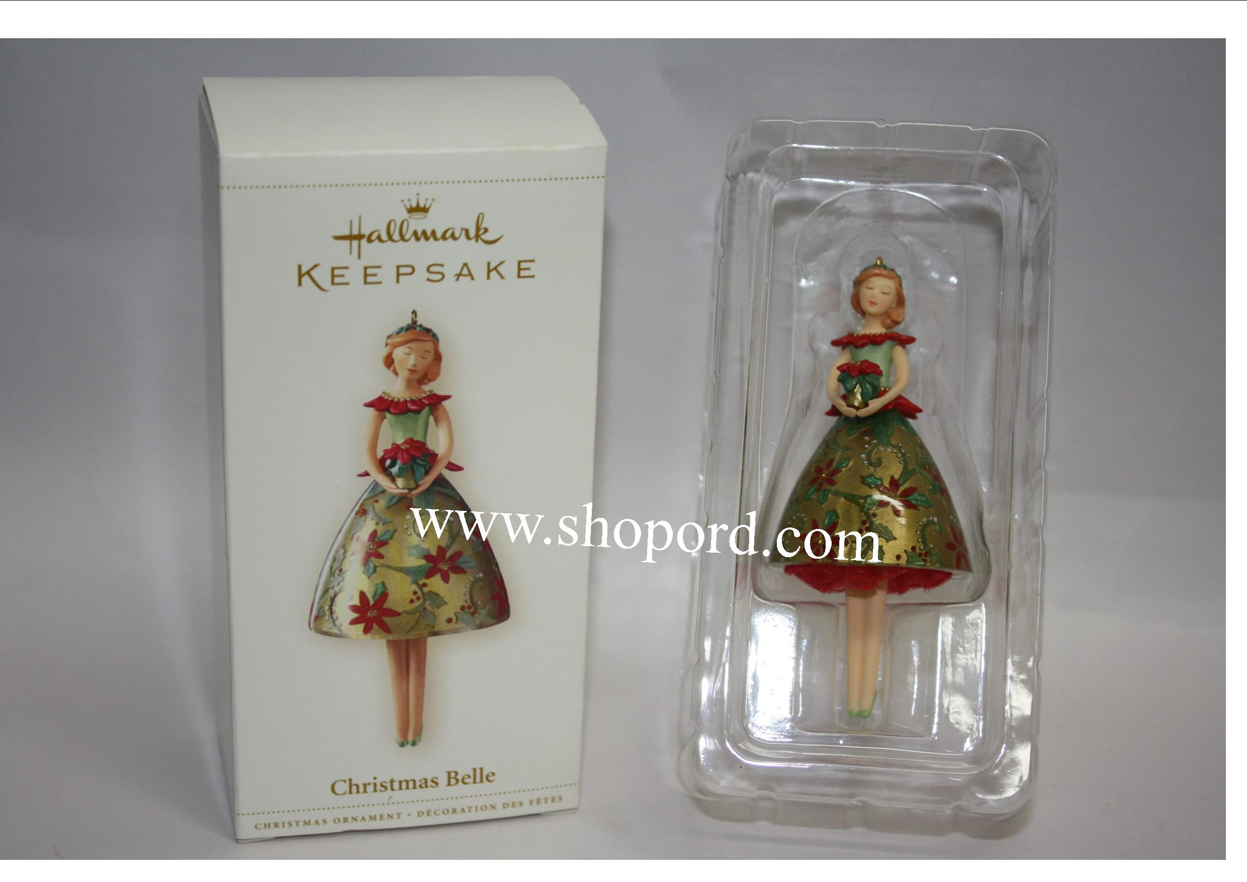 Hallmark 2006 Christmas Belle QXG3023 Damaged Box