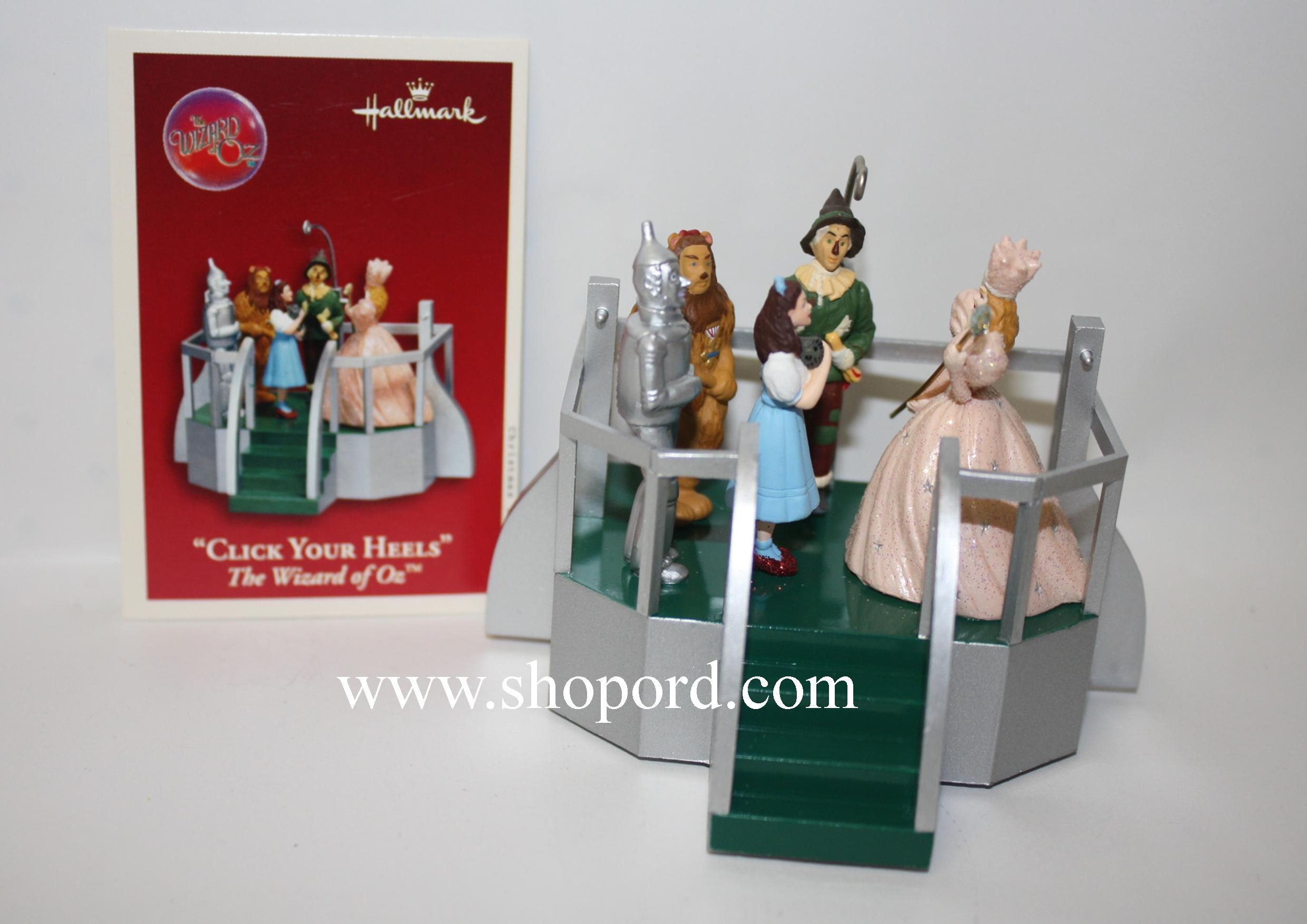 Hallmark 2003 Click Your Heels Ornament The Wizard of Oz QXI7487 Box Slightly Bent