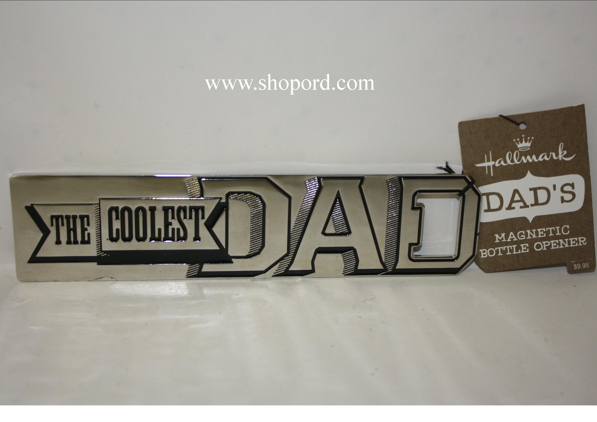 Hallmark The Coolest Dad Magnetic Bottle Opener DIR7067