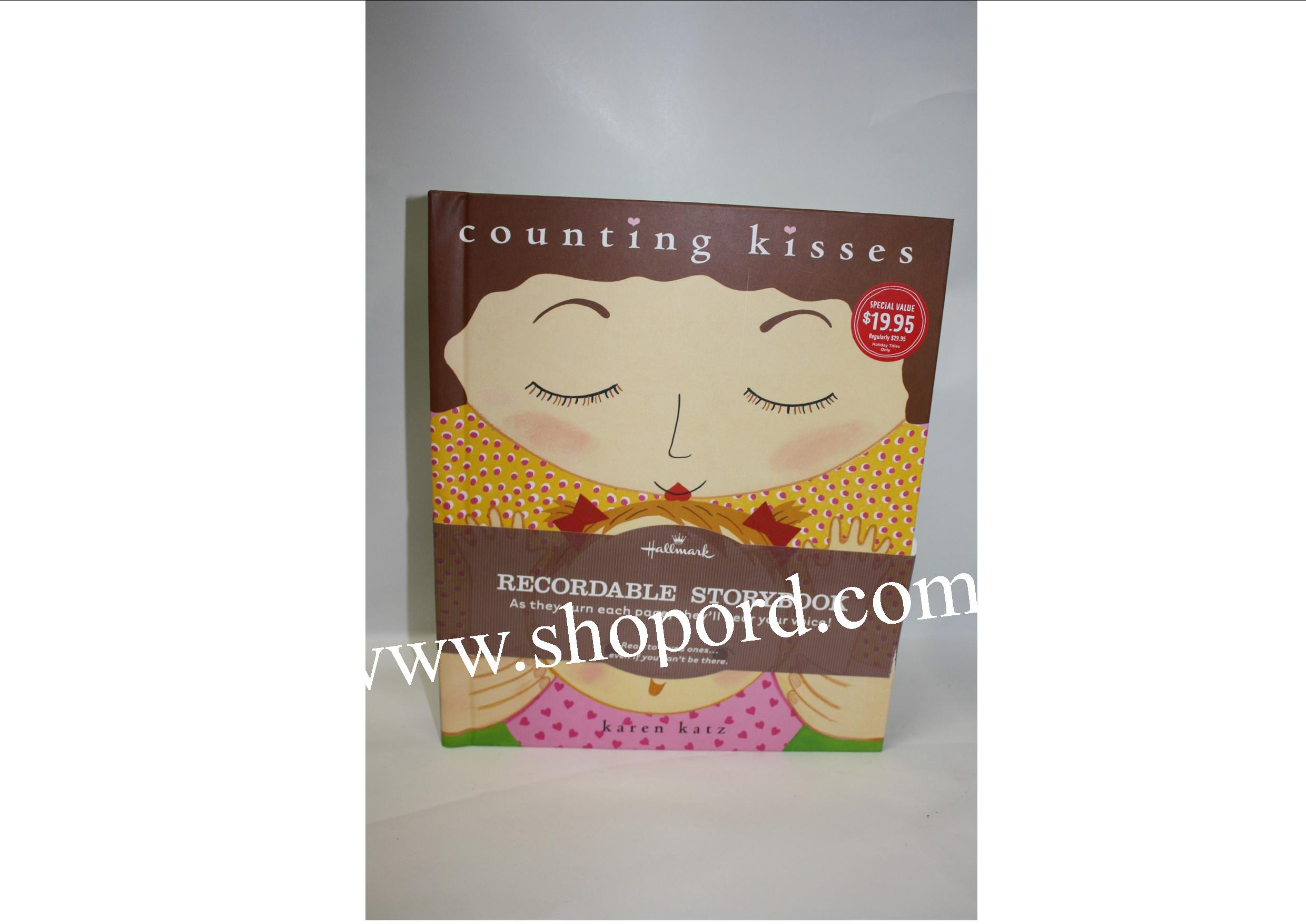 Hallmark Counting Kisses Recordable Storybook KOB9014