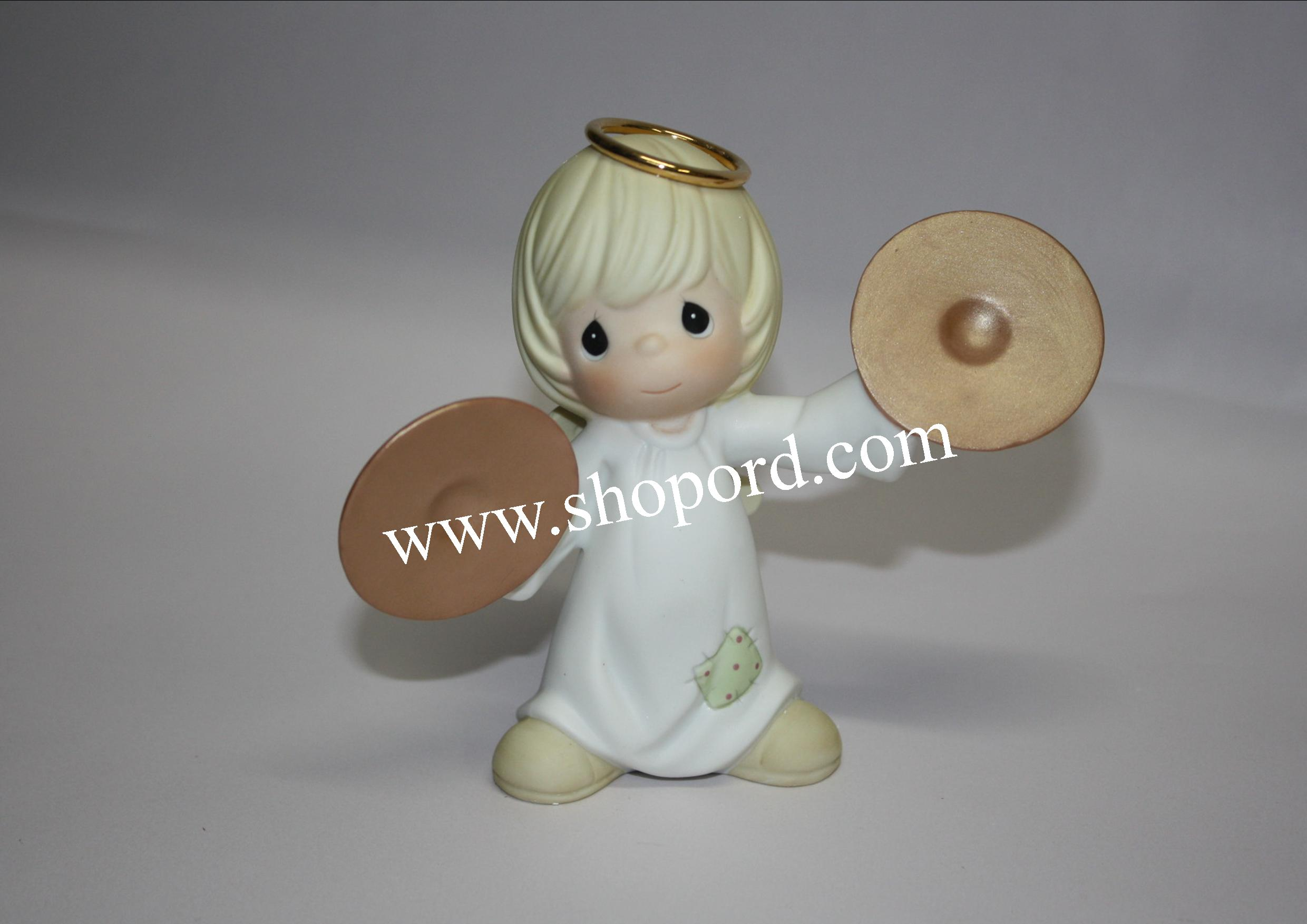 Precious Moments - You're The Cymbal Of Perfection (Nativity Additon) #4003177