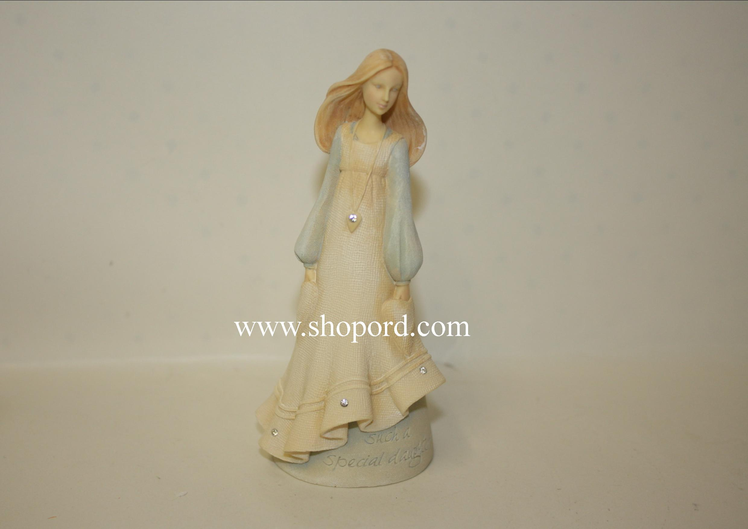 Enesco Foundation Angel Daughter Mini Figurine 4044755