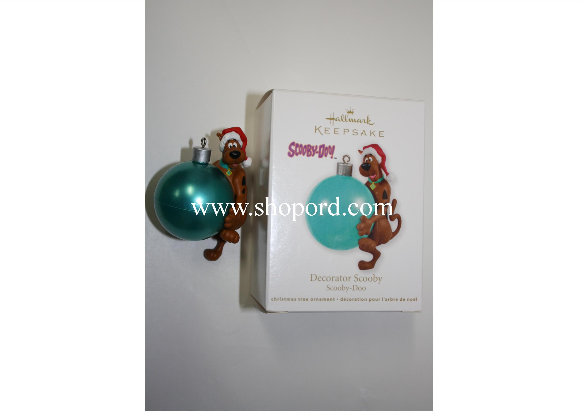Hallmark 2011 Decorator Scooby Ornament Scooby Doo QXI2407