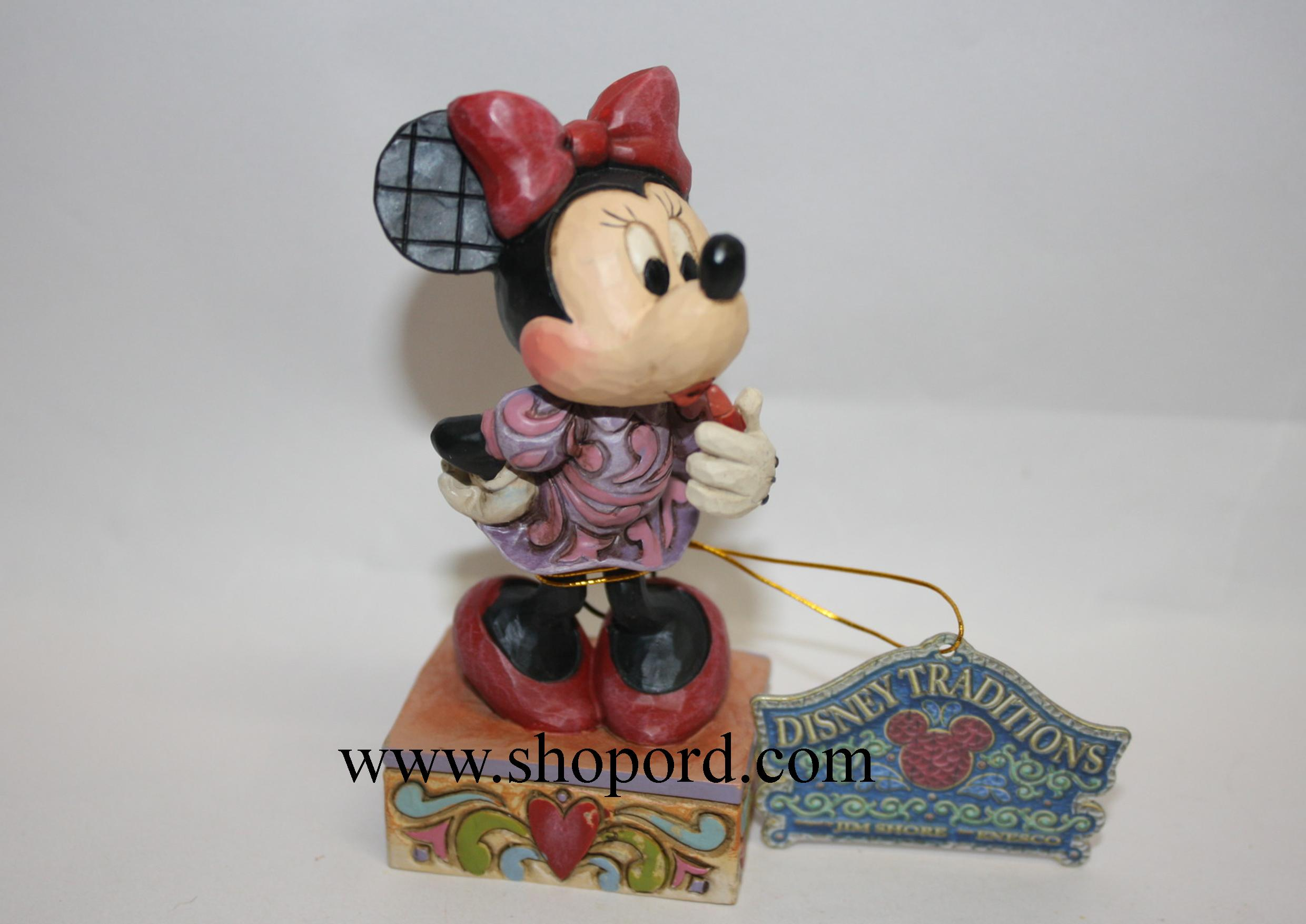 Jim Shore Disney Traditions Sweetheart Diva Minnie Mouse Figurine 4031476