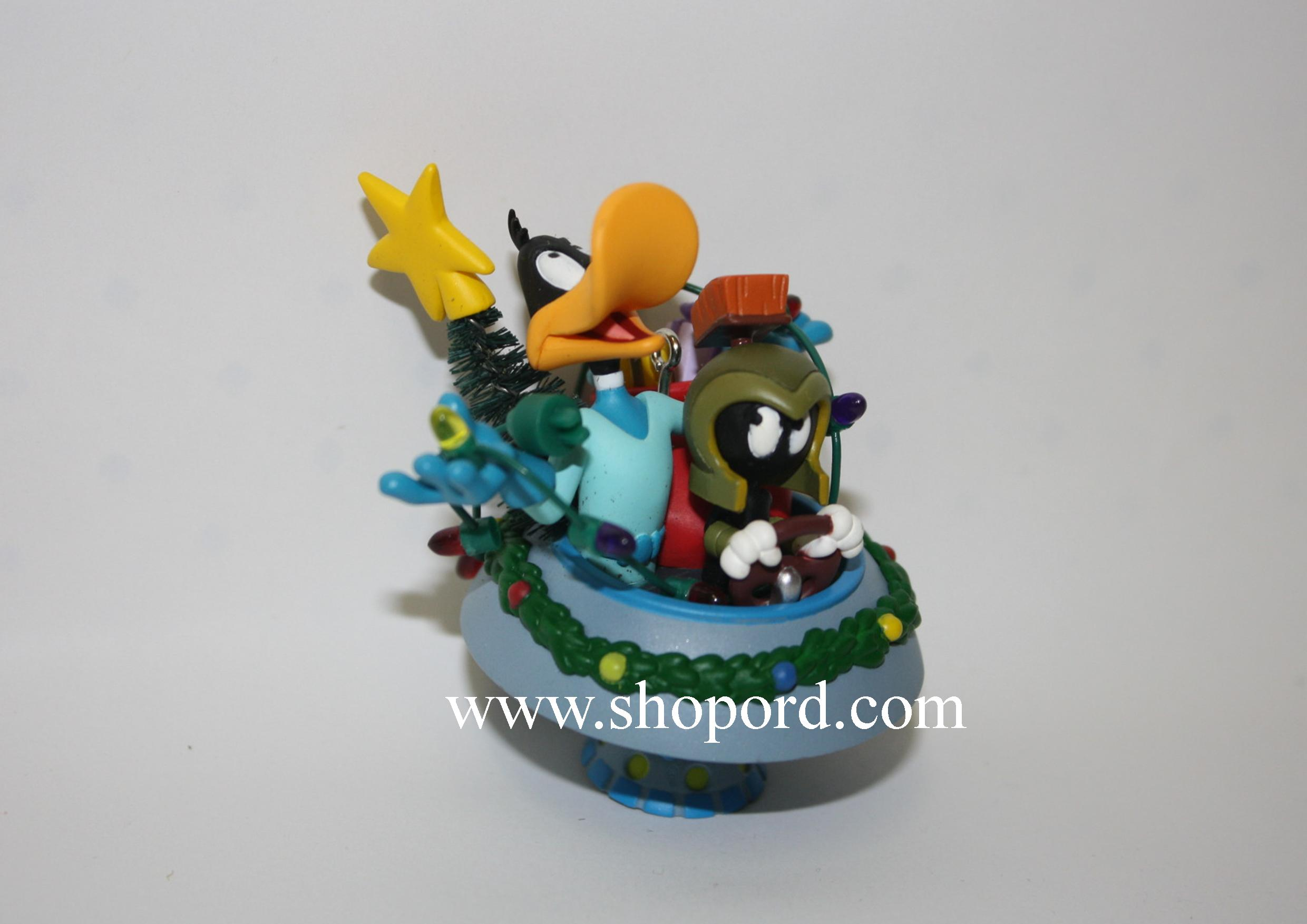 Hallmark 2005 Duck Dodgers And Marvin The Martian Looney Tunes Ornament QXI8765 No Box