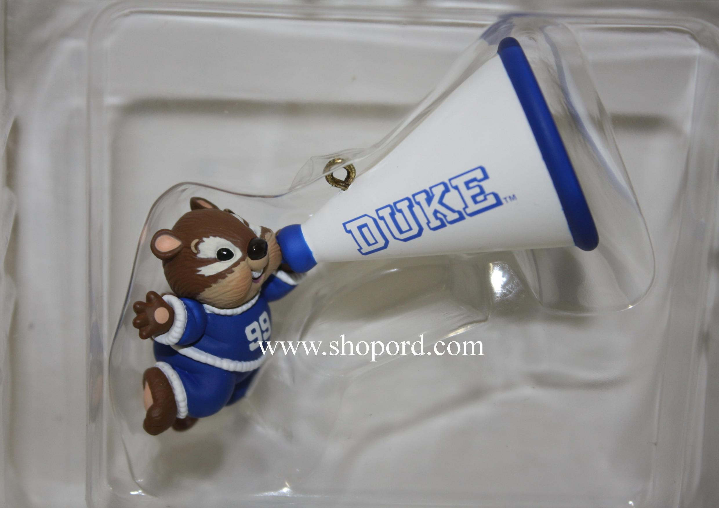 Hallmark 1999 Duke Ornament Blue Devils Collegiate Collection QSR2437