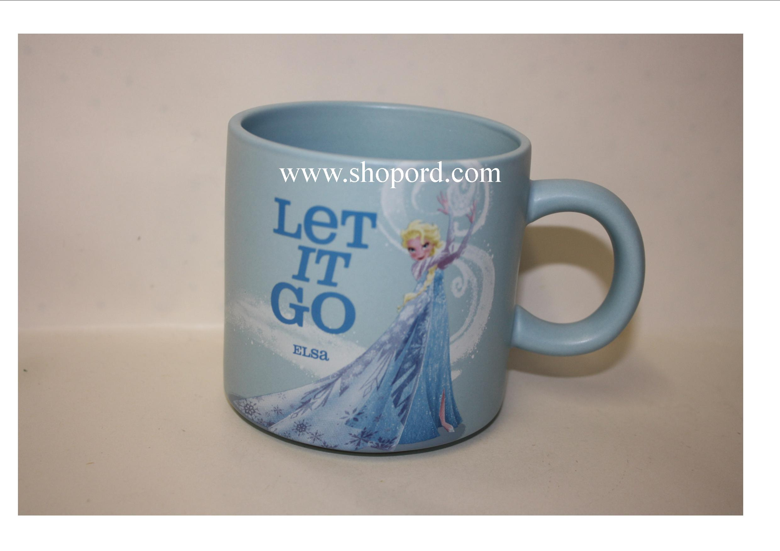 Hallmark Frozen Elsa Let It Go Mug Disney DYG9151