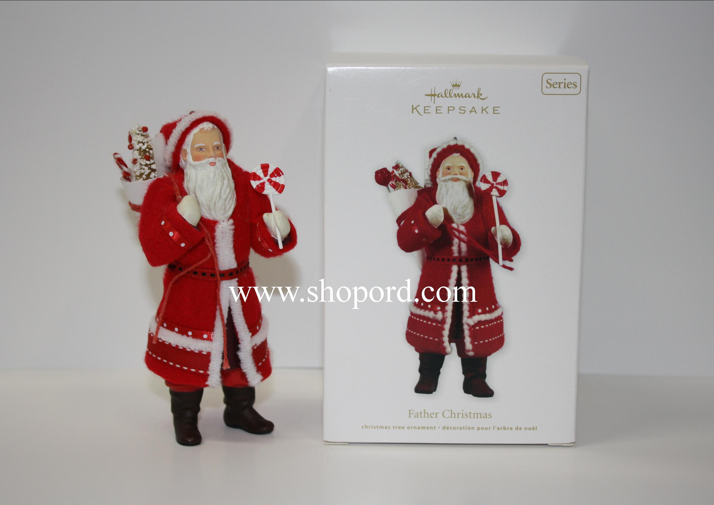 Hallmark 2011 Father Christmas Ornament 8th in the Father Christmas series QX8769